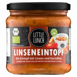 Little Lunch Bio Linseneintopf 350 ml (1 Glas)