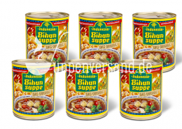 SPARPAKET Original Indonesia Bihunsuppe 780ml (6 Dosen)