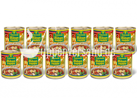 SPARPAKET Original Indonesia Bihunsuppe 780ml (12 Dosen)