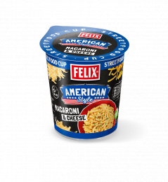 Felix Streetfood Cup Macaroni & Cheese 66g (1 Becher)