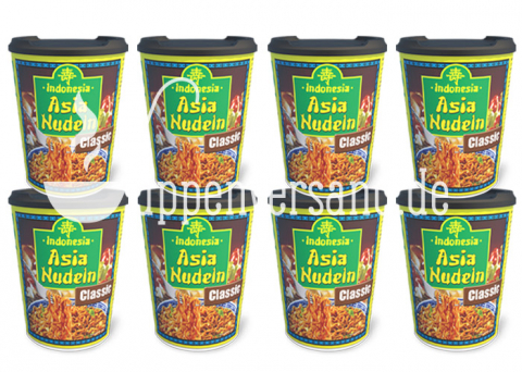 Asia Nudelcup Classic Soja 93g (8 Becher)