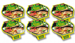 SPARPAKET Bowl Indonesia Bihunsuppe 390ml (6 Schalen)