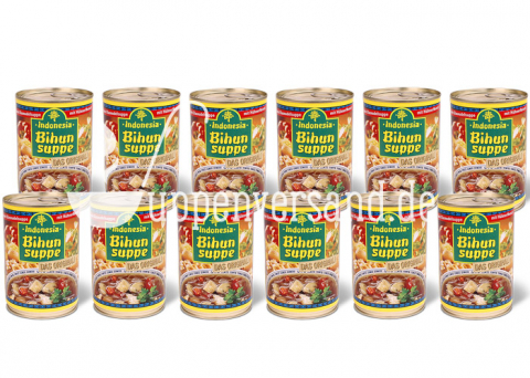 SPARPAKET Original Indonesia Bihunsuppe 390ml (12 Dosen)